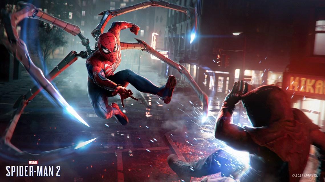 El tráiler de Marvel's Spider-Man 2 se ejecutaba en tiempo real en PS5
