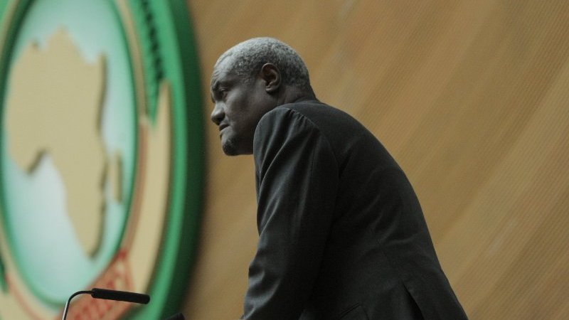 Who is the new Chairman of the Africa Union Commission?