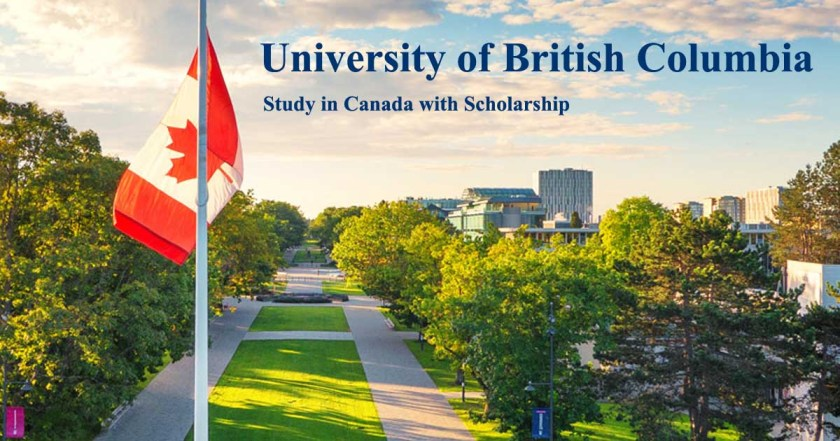 University of British Columbia (Canada) is offering