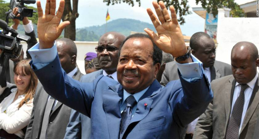 Cameroon: 85-year-old Paul Biya won Cameroon election to extend 36-year rule.