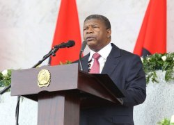 Angolan president, one year in, praised for anti-corruption push.