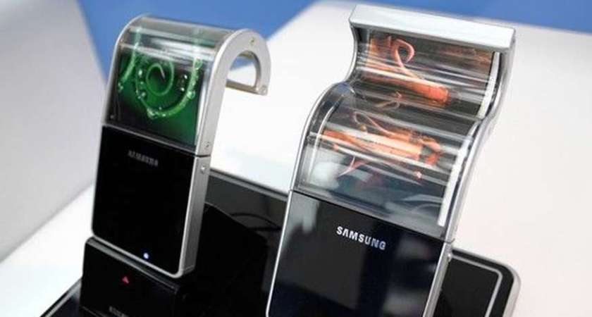 Samsung's folding screen tech has been stolen and sold to China.