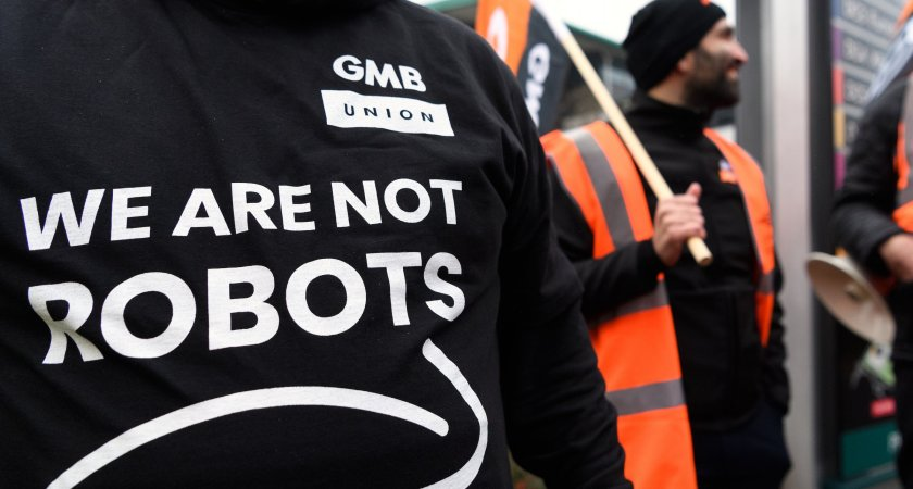 """""""We are not robots"""" Amazon employees strike over poor working conditions"""