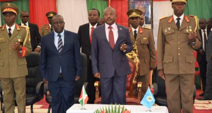 Burundi's head of state, Pierre Nkurunziza, officiated the opening of the academic year 2018-2019 at ISCAM.