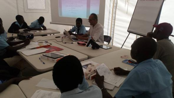 Refugees and Ugandan youth to be trained in multi-media story telling project.