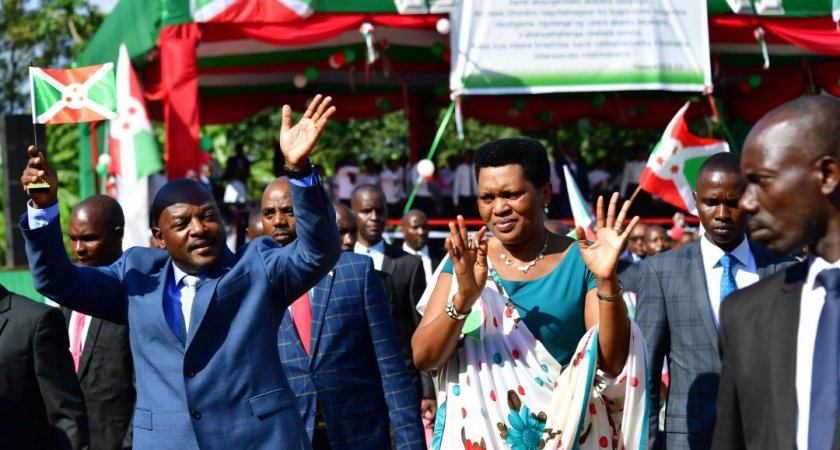 Thanksgiving week organized by the presidential family started in Ngozi