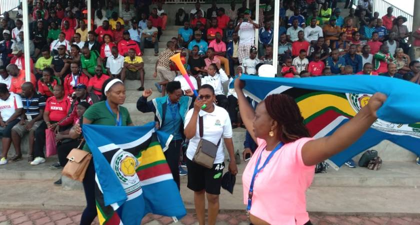 Football: Tanzania beats EALA netball team at Inter-parliamentary games.