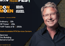 Don Moen to be in The MTN KIGALI PRAISE FEST 2019 Edition.