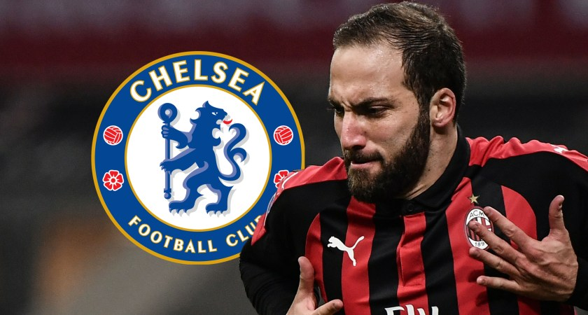 Chelsea targets to sign Gonzalo Higuain from Ac Milan