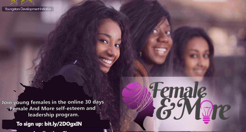 Female And More (FAM) self-esteem and leadership initiative program 2019: digital edition