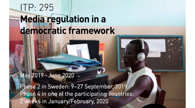 Apply for 2019 International Training Program on self-regulation of African Media