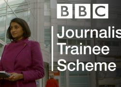 Applications for the BBC Journalism Trainee Scheme 2019 are open
