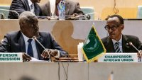 Paul Kagame steps down as African Union Chairperson.