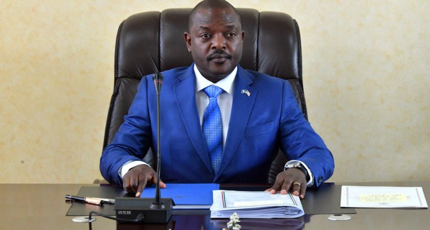The African Union welcomes the decision of Pierre Nkurunziza of 'not standing again for re-election in 2020'.