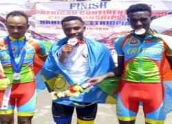 Rwanda secured a gold and a silver medal at the 14th African Continental Road Championship