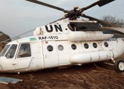 A Rwandan Mi-17 jet crashed in South Sudan.