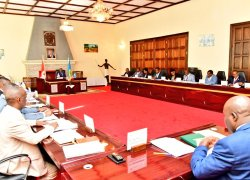 Burundi's Council of ministers' meeting in Gitega: nine points on the schedule.