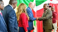 Burundi Head of State receives Merck Foundation President.