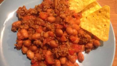 Photo of Simpele homemade chili con carne