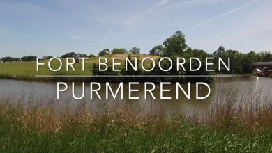 Photo of Fort Benoorden Purmerend vanuit de lucht (video)