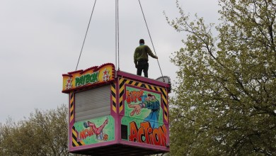 Photo of Opbouw Kermis in volle gang (fotoverslag)