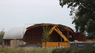 Photo of Sporthal Beukenkamp deze week weg uit straatbeeld
