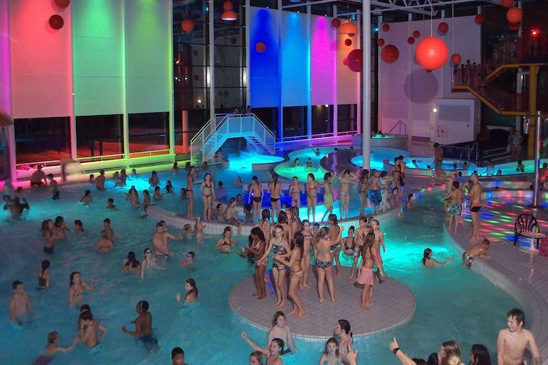 Weer spetterende dansfeesten in Leeghwaterbad