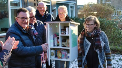 Photo of Vijfde Little Free Pantry geopend in Purmerend