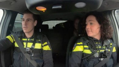Photo of Politievlogger Jan-Willem draait dienst mee in Purmerend (video)