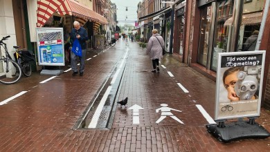 "Photo of De column van Boze Buurman: ""de straat is vol gekalkt"""