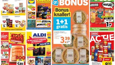 Photo of Handig: alle supermarktfolders op een rij – week 45