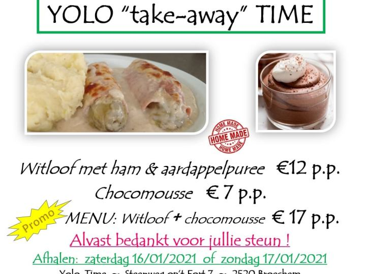 Take-away 'Witloof in den Oven' bij Yolo-Time