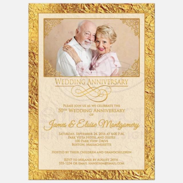 50Th Wedding Anniversary Invitations 50th Wedding Anniversary Invitations Awesome 50th Wedding