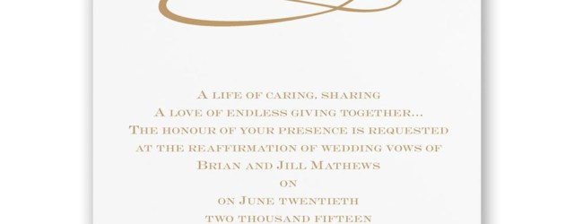 50Th Wedding Invitations Classic 50th Anniversary Invitation Invitations Dawn