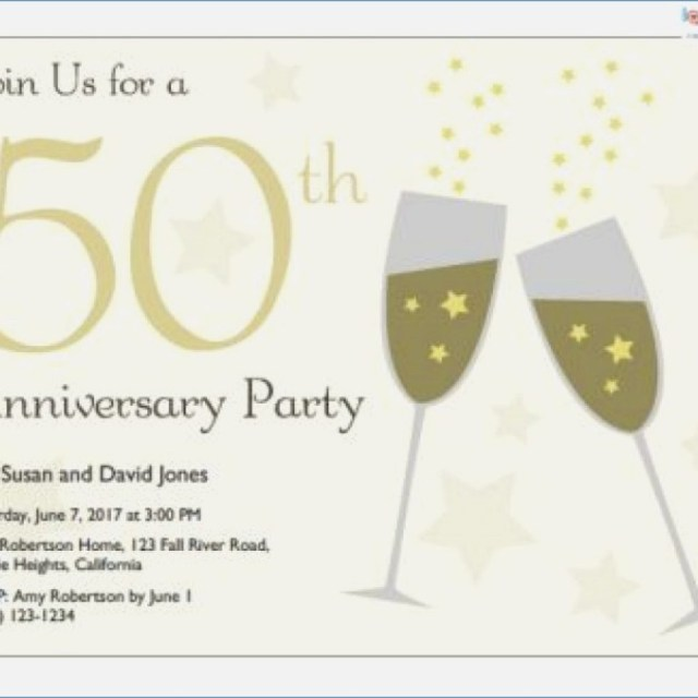 50Th Wedding Invitations Printable 50th Anniversary Invitations Free Clipart Download