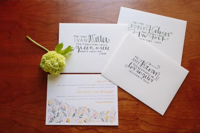 Addressing Wedding Invitations Outer Envelope Only Diy Wedding Envelope Addressing Tips Julep