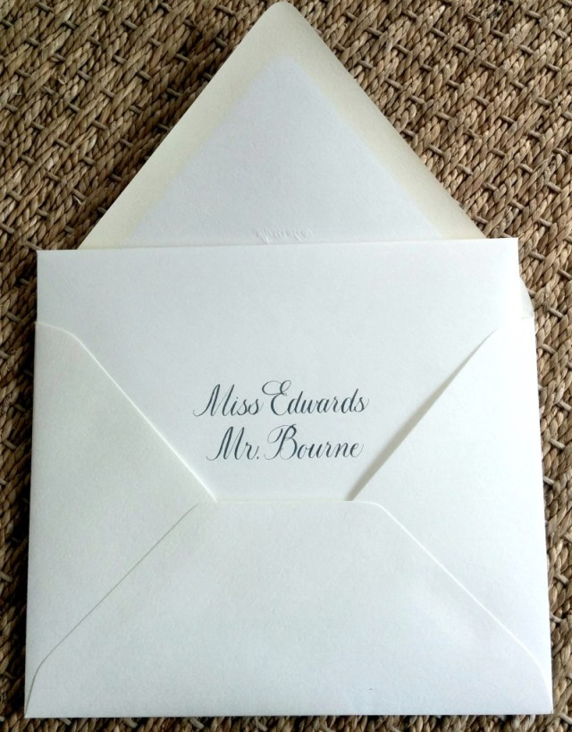Addressing Wedding Invitations Outer Envelope Only How To Tara Gurard Soire Page 2