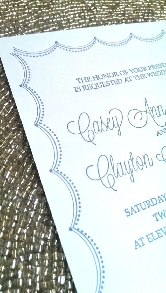 Affordable Letterpress Wedding Invitations Affordable Letterpress Wedding Invitations Sapphire Blue