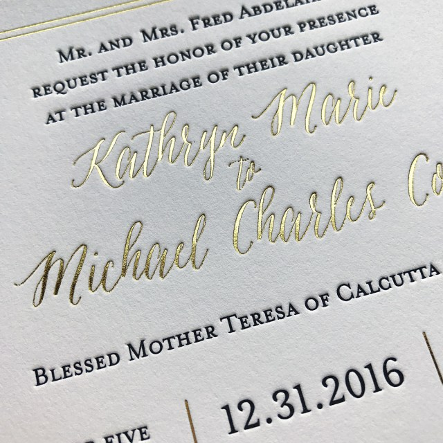 Affordable Letterpress Wedding Invitations Custom Letterpress Invitations Affordable Letterpress Wedding