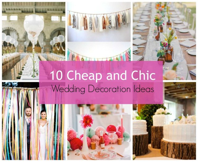 Affordable Wedding Ideas Modern Cheap Wedding Decor With Stylehunter Collective 10 Cheap And