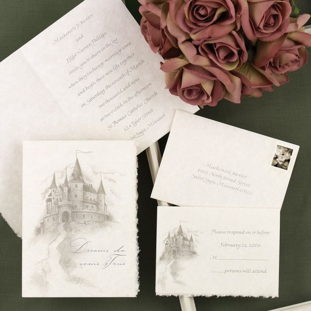 Affordable Wedding Invitations Happily Ever After Invitation Anns Bridal Bargains