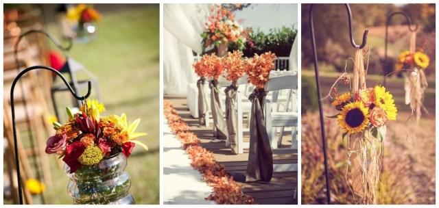 Altar Decorations Wedding 29 Awesome Wedding Aisle Decorations For Fall Wedding