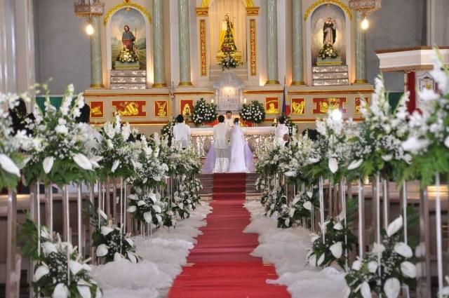 Altar Decorations Wedding Amazing Church Wedding Decor With Pin Church Wedding Decoration