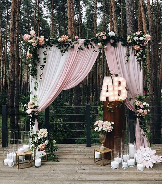 Alter Decorations Wedding 30 Best Floral Wedding Altars Arches Decorating Ideas Stylish
