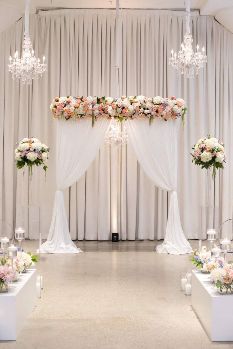 Alter Decorations Wedding Pink Wedding Ideas Pink Wedding Decor Chez Wedding Venue