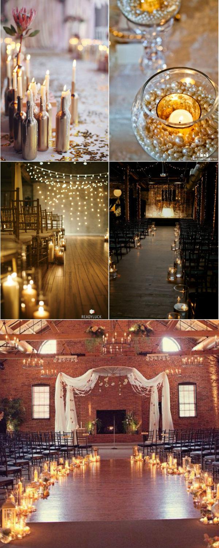 Amazing Wedding Ideas 36 Stunning Wedding Ideas With Candles Elegantweddinginvites Blog