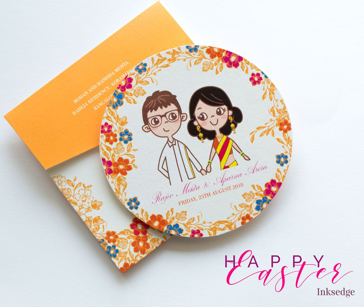 Awesome Wedding Invitations Retro Chic Saffron Creative Wedding Invitation Cards Retro
