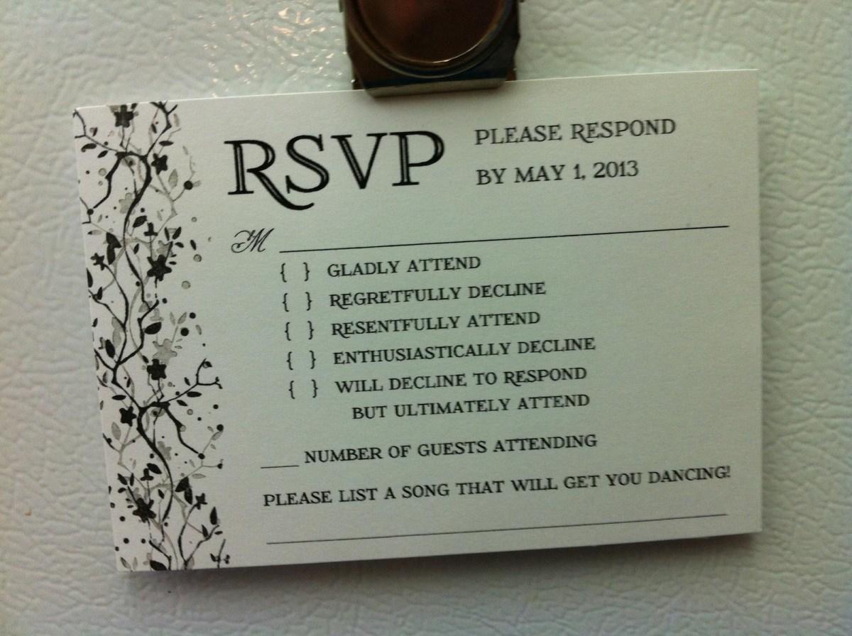 Awesome Wedding Invitations Youd Definitely Rsvp To These Brilliant Wedding Invitations