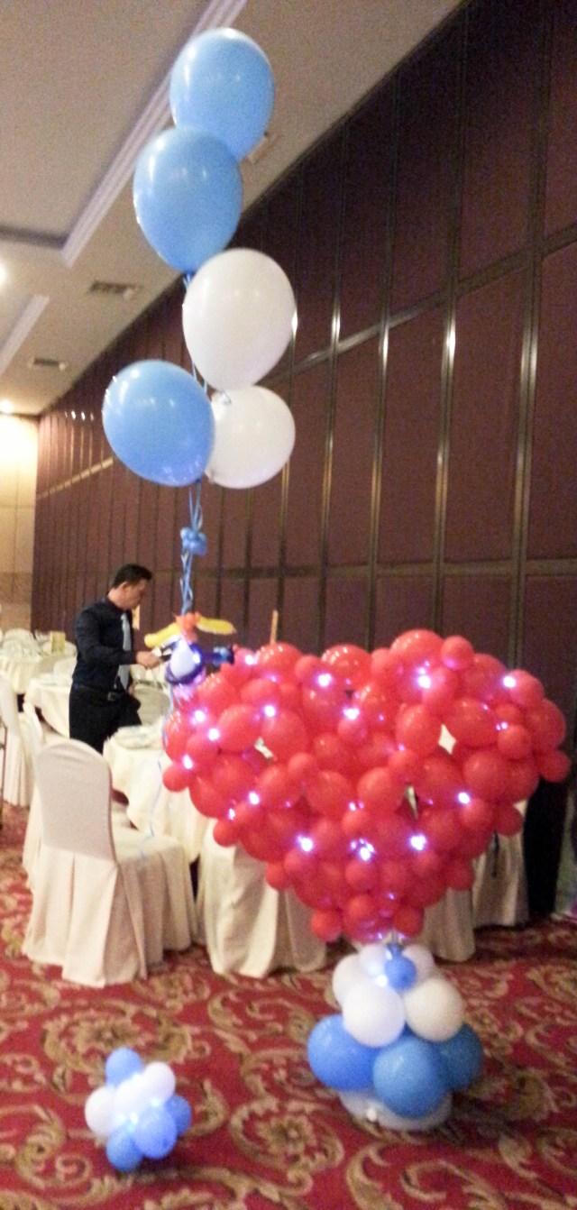 Baloon Decorations Wedding Wedding Balloon Decorations For Events Allan Friends Studios
