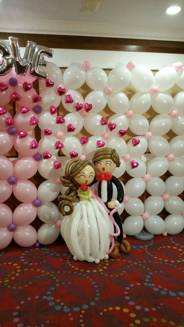 Baloon Decorations Wedding Wedding Balloon Decorations Singapore Balloon Decoration Services